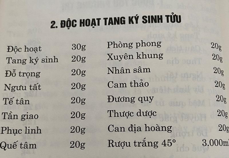 doc hoat tang ky sinh tuu